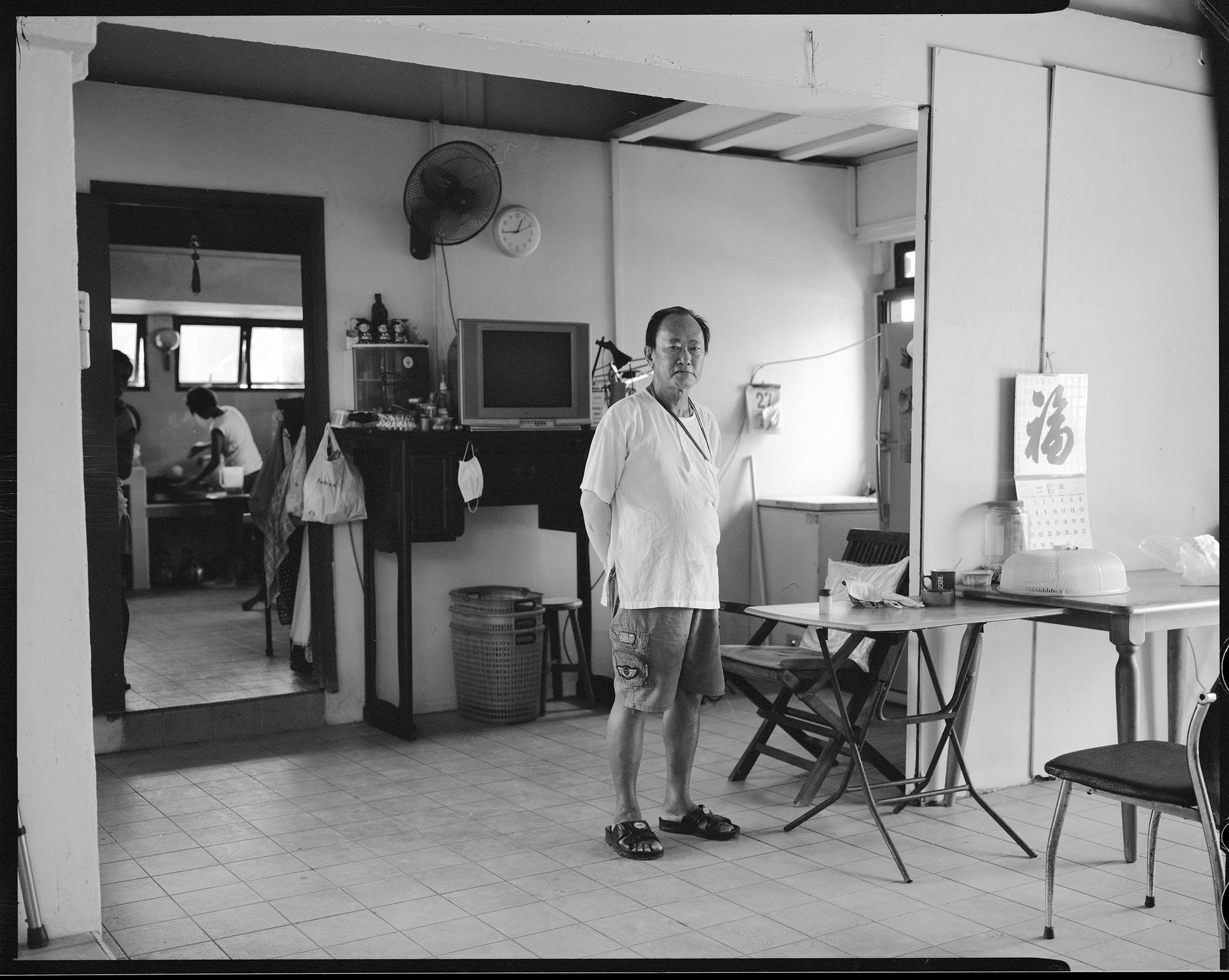 "Kusu Island, Mr Seet Seng Huat, or ""Ah Huat"" ISO 400, F8, 1/30s"