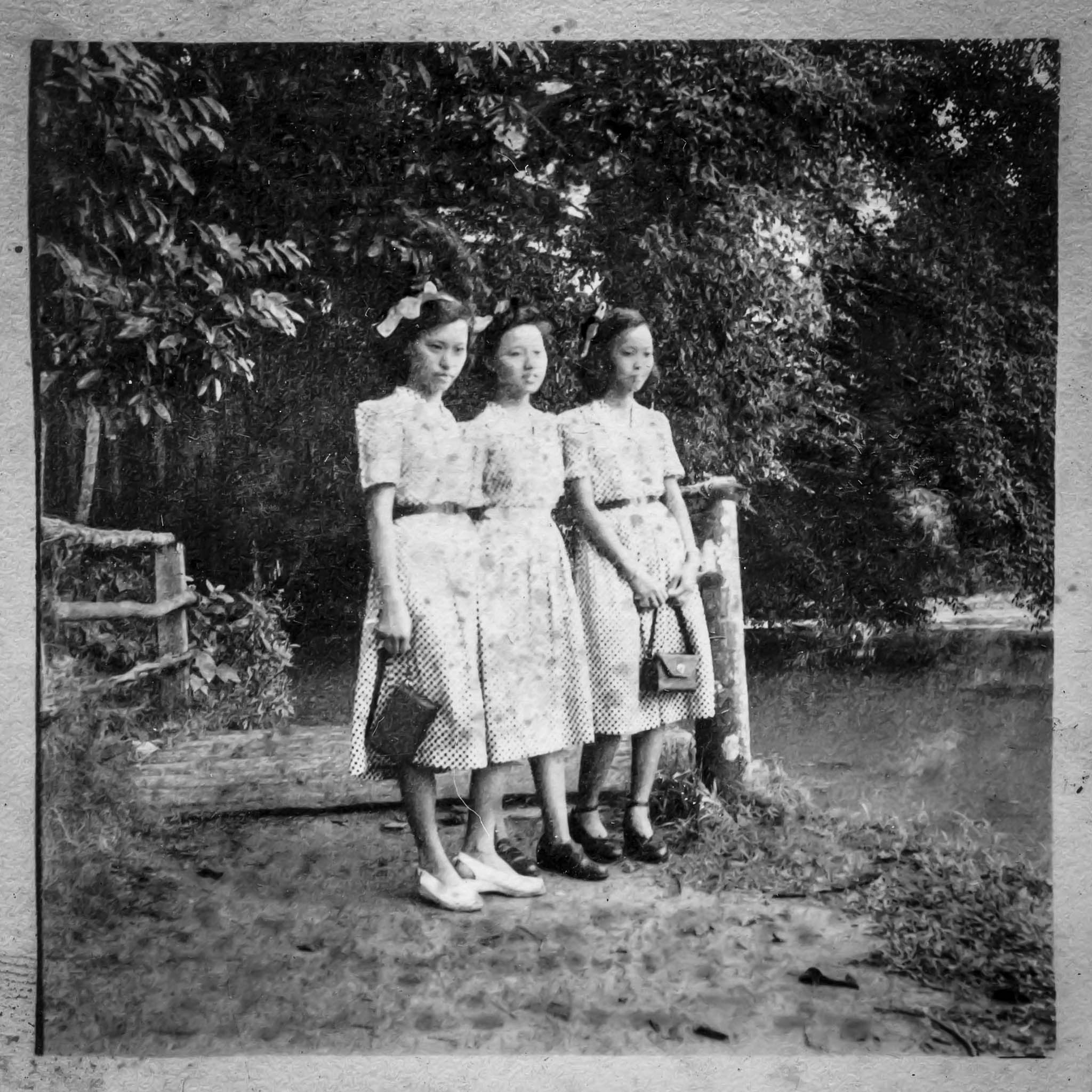 Eldest Brother Brought These Girls To Seking. Girls Were From Mainland. 1955.